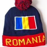 ROMANIA caciula- fes steag tricolor (stema palarie sapca basc) RO32