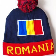 ROMANIA caciula- fes steag tricolor (stema palarie sapca basc) RO32 - Fes Barbati, Marime: Marime universala, Culoare: Din imagine