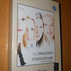 DRAGOSTE OTRAVITOARE - FILM DVD ORIGINAL - Film romantice, Romana