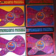 Meridiane melodii volume 1, 2, 3, 4 disc vinyl lp muzica usoara pop rock anii 70 - Muzica Pop electrecord, VINIL
