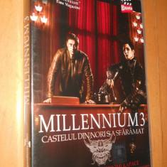 MILLENIUM 3 - CASTELUL DIN NORI S-A SFARAMAT - FILM DVD ORIGINAL - Film Colectie, Romana