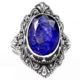 Inel 925 INDIAN SAPPHIRE marimea 8 - Inel argint