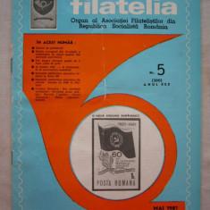 FILATELIA - REVISTA FILATELISTILOR DIN RSR - NUMARUL 5 - MAI 1981