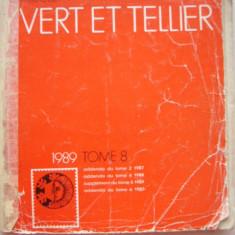 CATALOG FILATELIC FRANCEZ - YVERT ET TELLIER - 1989