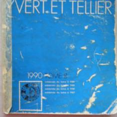 CATALOG FILATELIC FRANCEZ - YVERT ET TELLIER - 1990