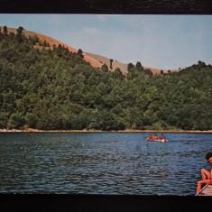SEPT15-Vedere/Carte postala-Lacul Valiug-Debarcaderul-circulata - Carte Postala Banat dupa 1918, Printata