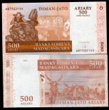MADAGASCAR- 500 ARIARY 2004(2014)- UNC!!