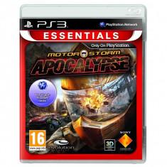PE COMANDA MotorStorm Apocalypse Essentials PS3 - Jocuri PS3 Sony, Curse auto-moto, 12+, Multiplayer