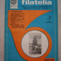 FILATELIA - REVISTA FILATELISTILOR DIN RSR - NUMARUL 3 - MARTIE 1982