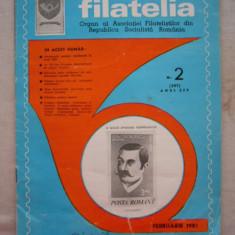 FILATELIA - REVISTA FILATELISTILOR DIN RSR - NUMARUL 2 - FEBRUARIE 1981