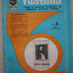 FILATELIA - REVISTA FILATELISTILOR DIN RSR - NUMARUL 4 - APRILIE 1981