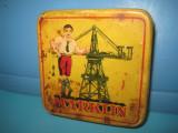 Cutie Jucarii vechi metal, firma renumita MARKLIN.