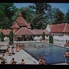 SEPT15-Vedere/Carte postala-Hunedoara-Vata de Jos-Strandul-circulata, Printata