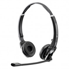 Casti sennheiser DW Pro2 Wireless Headset casti Sennheiser DW 30 HS, Casti On Ear, Fara Fir, Active Noise Cancelling
