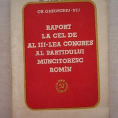 CC8 - DOCUMENTE ALE PARTIDULUI COMUNIST ROMAN - EDITATA IN 1960 - Carte Epoca de aur