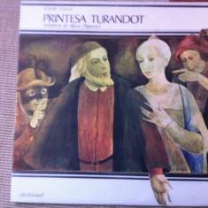 Printesa Turandot carol gozzi povesti disc vinyl lp electrecord exe 2848 - Muzica soundtrack electrecord, VINIL