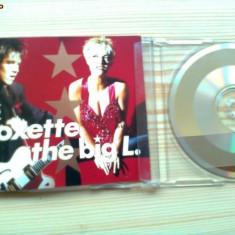 Roxette the big L cd disc single Muzica Pop emi records rock editie vest emi svensk 1991