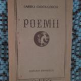 Barbu CIOCULESCU - POEMII (prima editie - cu autograf, 1974) - Carte poezie