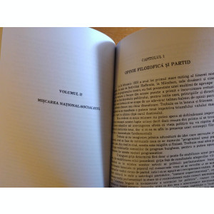 MEIN KAMPF in limba romana ambele volume-varianta necenzurata-cartea este noua