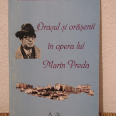 ORASUL SI ORASENII IN OPERA LUI MARIN PREDA de FLORICA LUMINITA ILAU - Studiu literar