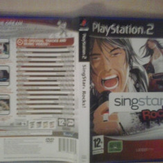 Singstar Rocks - JOC PS2 Playstation ( GameLand) - Jocuri PS2, Board games, 3+, Multiplayer