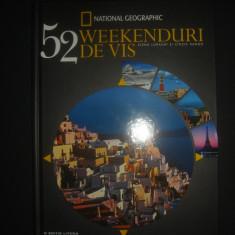 ELENA LURAGHI * CINZIA RANDO - 52 WEEKENDURI DE VIS {2015} - Ghid de calatorie, Litera