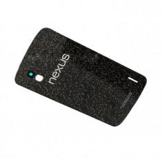 Capac carcasa LG Nexus 4 E960 negru - Capac baterie