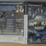 World Championship Snooker 2002 - JOC PS2 Playstation   ( GameLand )