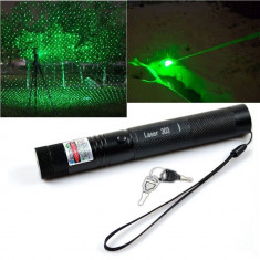 Laser 3D Lasere Verde Pointer 2 IN 1 +ACUMULATOR CADOU - Laser pointer