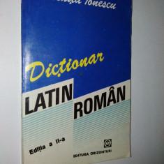 Dictionar Latin - Roman – Voichita Ionescu