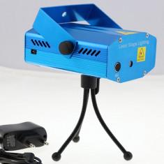 Laser Disco Senzor muzica + TREPIED - Laser lumini club