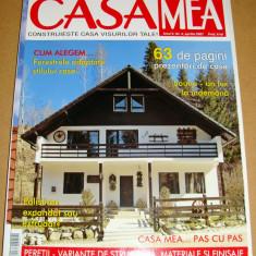 Revista CASA MEA - Nr. 4 Aprilie 2007