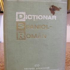 DICTIONAR SPANIOL- ROMAN de AL.CALCIU, Z.SAMHARAZDE