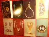Carnet Ilustrate- Fotografii - Bijuterii, lucrari -metale pretioase la Ermitage