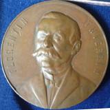 SV * Romania Medalie Prof. FLORENTIN THIERRIN 1902 RARA ! - Medalii Romania