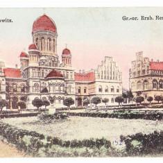 Cernauti (5) - Carte Postala Bucovina 1904-1918, Necirculata, Printata