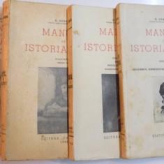 MANUAL DE ISTORIA ARTEI de G. OPRESCU, VOL I-IV 1946 - Carte Istoria artei