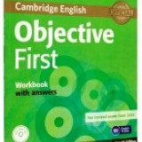 Objective First 2015 Workbook with Answers with Audio CD - Certificare