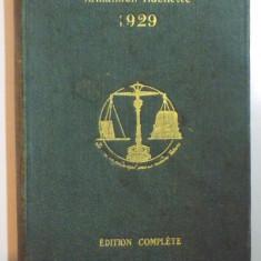 ALMANACH HACHETTE, PETITE ENCYCLOPEDIE POPULAIRE, EDITION 1929