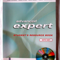 ADVANCED EXPERT CAE. Student's Resource Book. With Key + CD, Jane Barnes, 2004. - Curs Limba Engleza