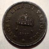 7.695 UNGARIA WWI 2 FILLER 1917 FIER, Europa
