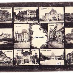 Cernauti (9) - Carte Postala Bucovina 1904-1918, Necirculata, Printata