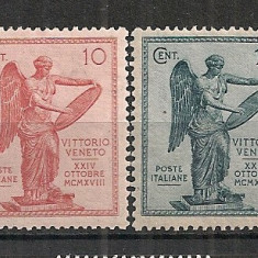 Italia .1921 3 ani victoria de la Venetia SI.977, Nestampilat