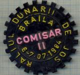 849 NEW INSIGNA - RALIUL DUNARII DE JOS-COMISAR II -(ACR) -starea care se vede