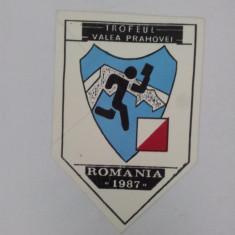 FANION TROFEUL VALEA PRAHOVEI ORIENTARE ROMÂNIA 1987