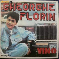 Gheorghe florin vino album disc vinyl lp Muzica Pop electrecord rock usoara 1992 plus poster, VINIL