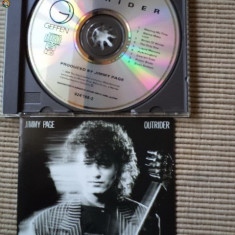 jimmy page outrider cd disc muzica rock blues guitar chitarist din led zeppelin