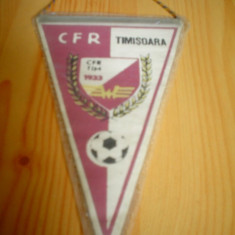 Fanion fotbal cfr timisoara echipa club fan sport hobby de colectie