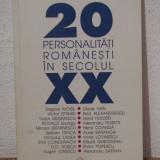 20 PERSONALITATI ROMANESTI IN SECOLUL XX-MANASE RADNEV - Istorie