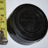 Cutie farmacie veche / ambalaj antic / vintage/ colectie din ebonita / bachelita